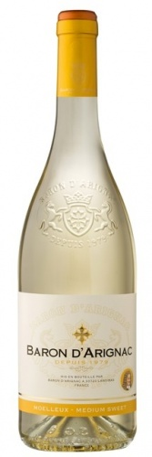 BARON D'ARIGNAC WHITE MEDIUM SWEET