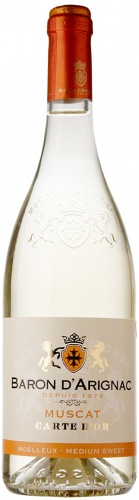 BARON D'ARIGNAC MUSCAT MEDIUM SWEET